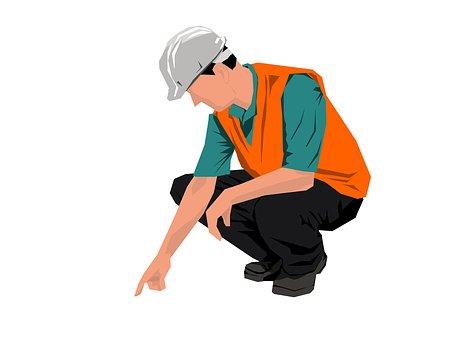 Engineer, Man, Male, Helmet, Worker