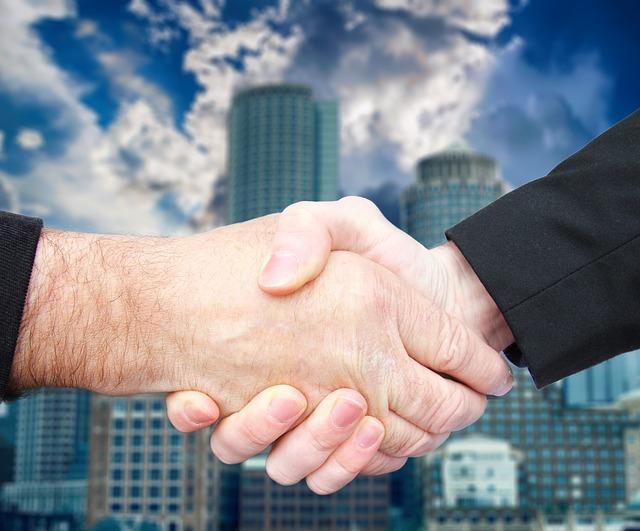 Handshake Business Deal 183 Free Photo On Pixabay