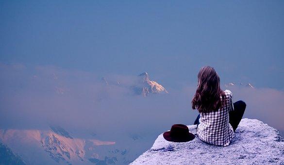 雪, のドーム型の天空, 自然, 冬, 屋外, パノラマの, 旅行, 風景