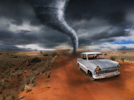 竜巻, 自動, エスケープ, 猿, 嵐, フォワード, リスク, 脅迫