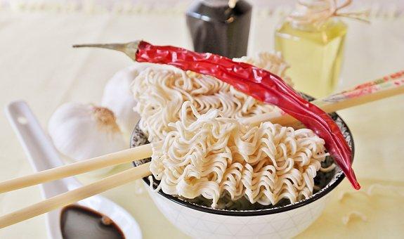Noodles, Instant Noodles, Ramen, Asia