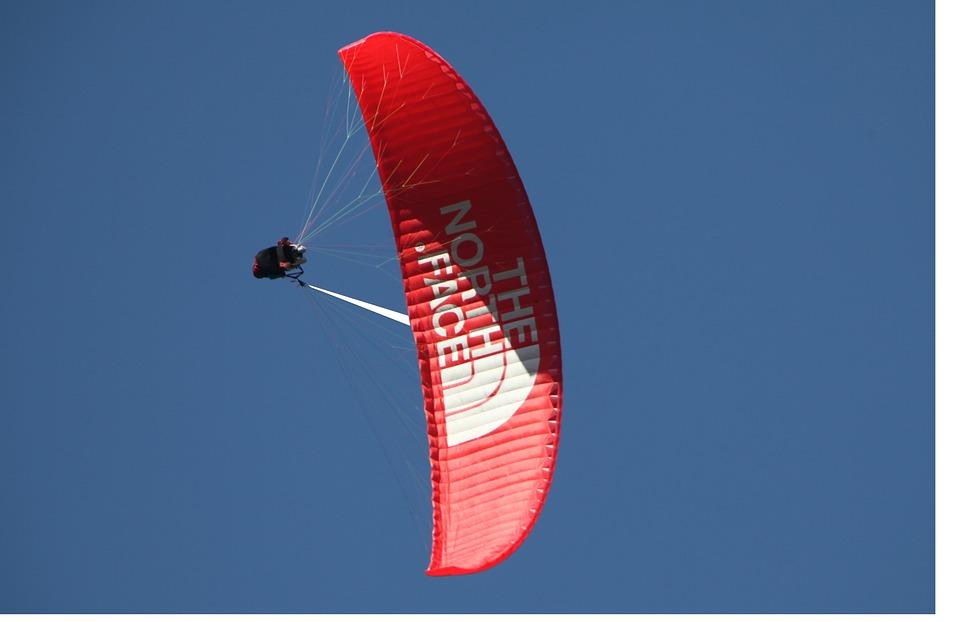 Paragliding, Chamonix