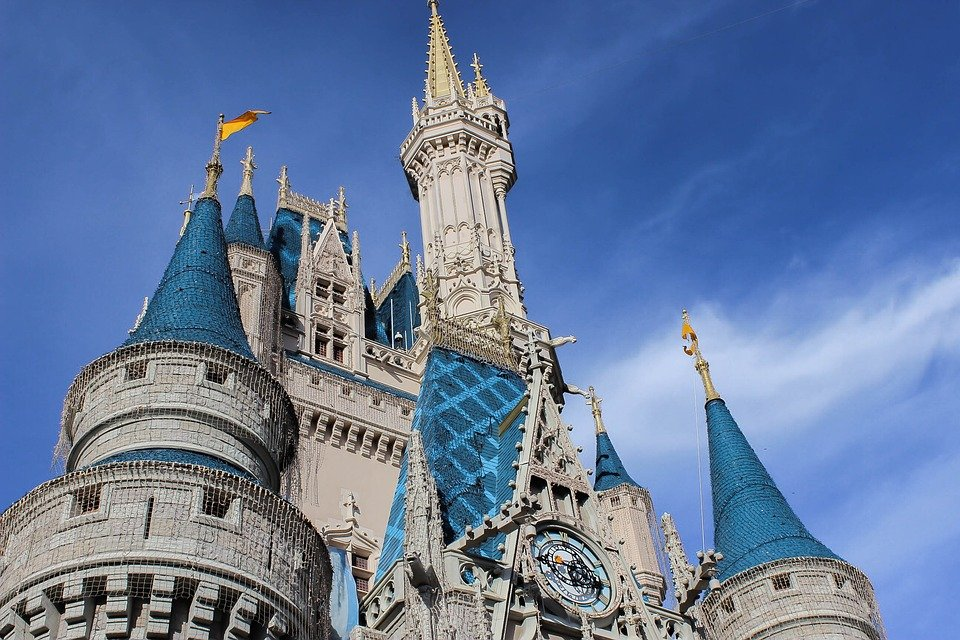 Architecture, Travel, Tower, Old, Building, Disney