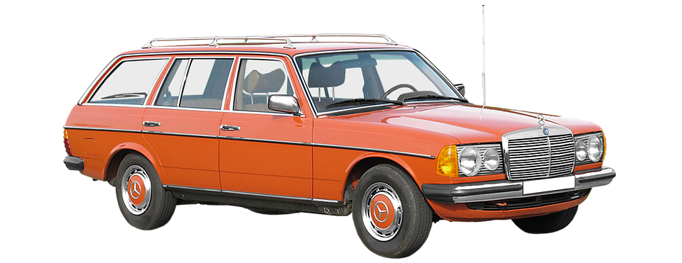 Mercedes Benz W123 T Model Station Free Photo On Pixabay