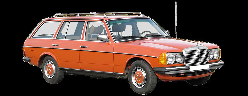 Mercedes Benz W123 T Model Station Free Photo On Pixabay