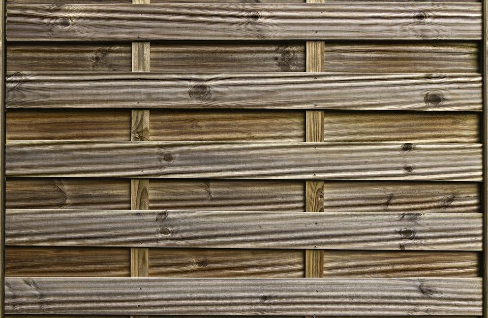 Holz Sichtschutz Zaunelement · Kostenloses Foto auf Pixabay