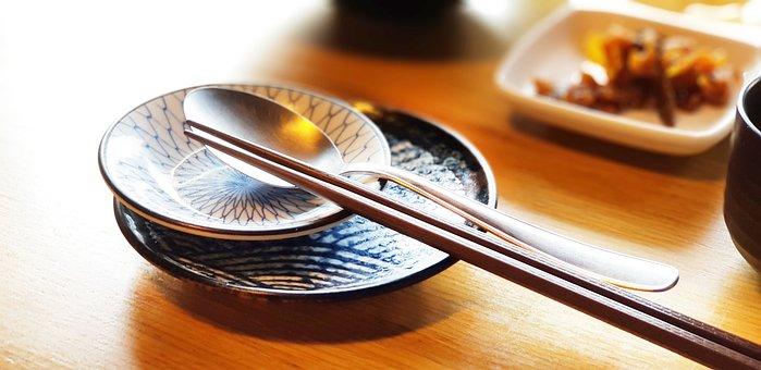 食品, 械, 箸, カトラリー, レストラン, 寿司, 韓国料理, 準備, 箸