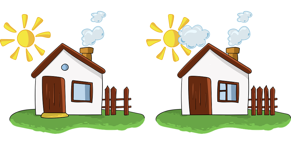 House houses spot the difference free vector graphic on pixabay house houses spot the difference games for kids altavistaventures Choice Image