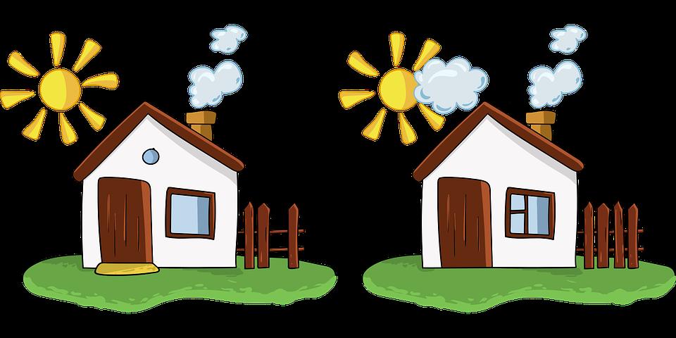 Картинки про дома для детей