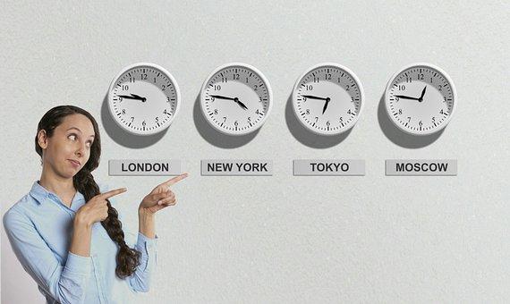 Bolsa De Valores, Tempo De, Relógio
