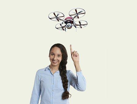 Cctv, Quadrocopter, Câmera, Zangão, Voar