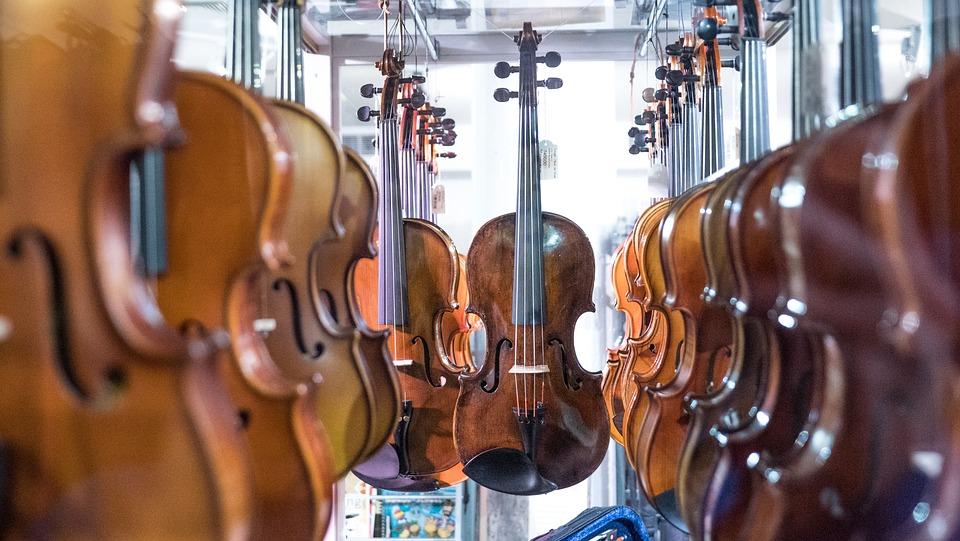 仪器, 小提琴, 弦乐器, 设备, 乐队, 音乐, 中提琴