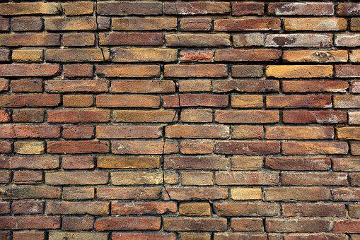 Brick Wall, Brown Brick Wall, Wall
