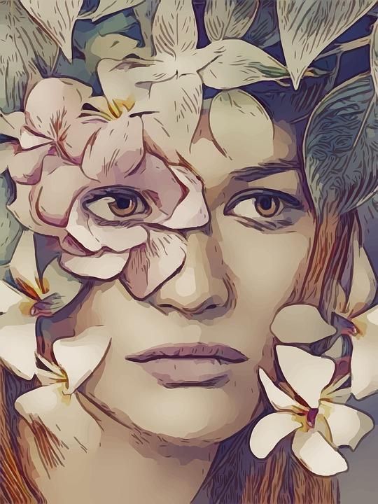 De Hadas Flor Tristeza Imagen Gratis En Pixabay