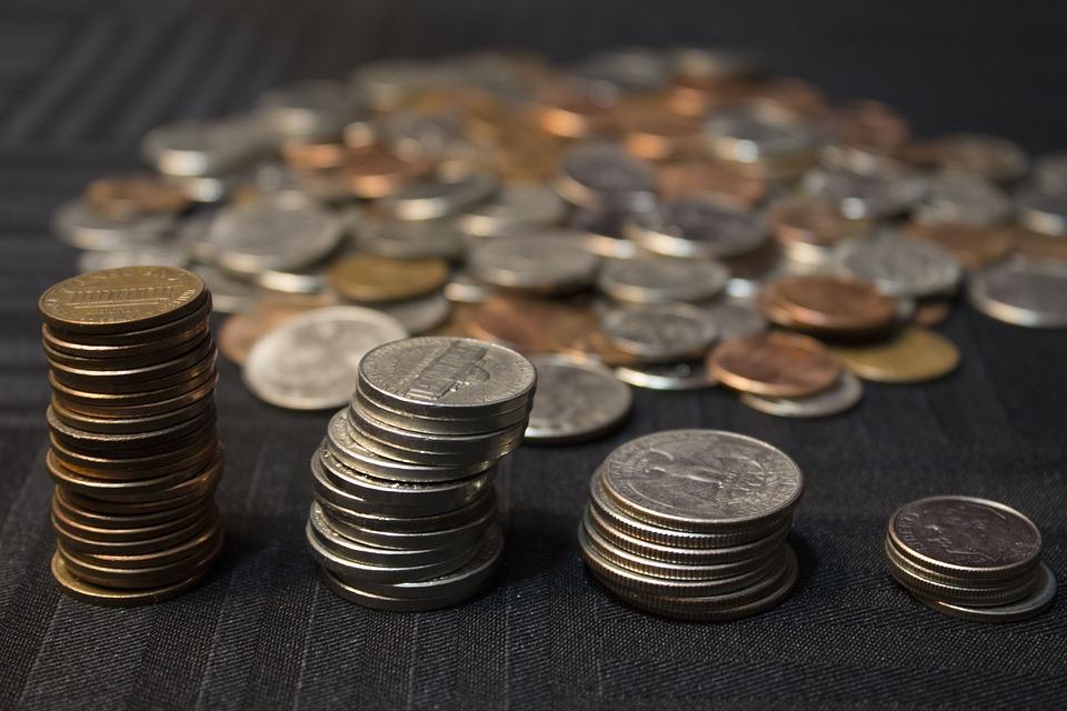 通貨, お金, ファイナンス, 富, 現金, 投資, ビジネス, 貯蓄, 金融, ニッケル, 銅