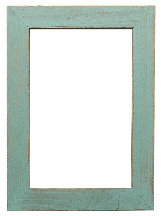 Picture Frame Blue Green · Free photo on Pixabay