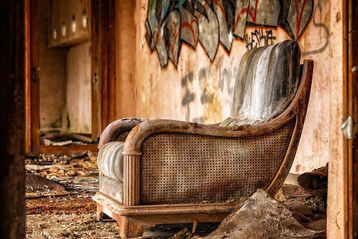 Chair, Furniture, Lost Places