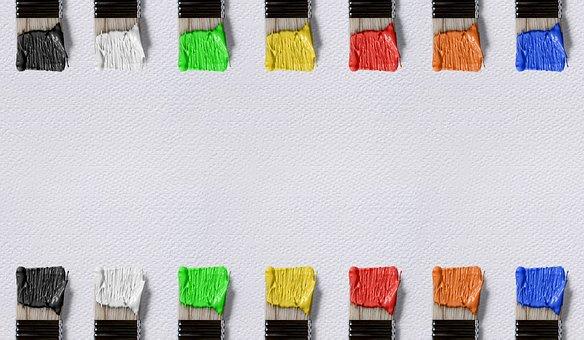 Brush, Color, Canvas, Frame, Art