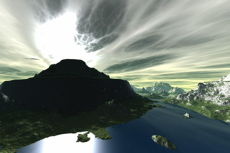 Воды, Панорамное, Пейзаж, На Открытом Воздухе, Природа
