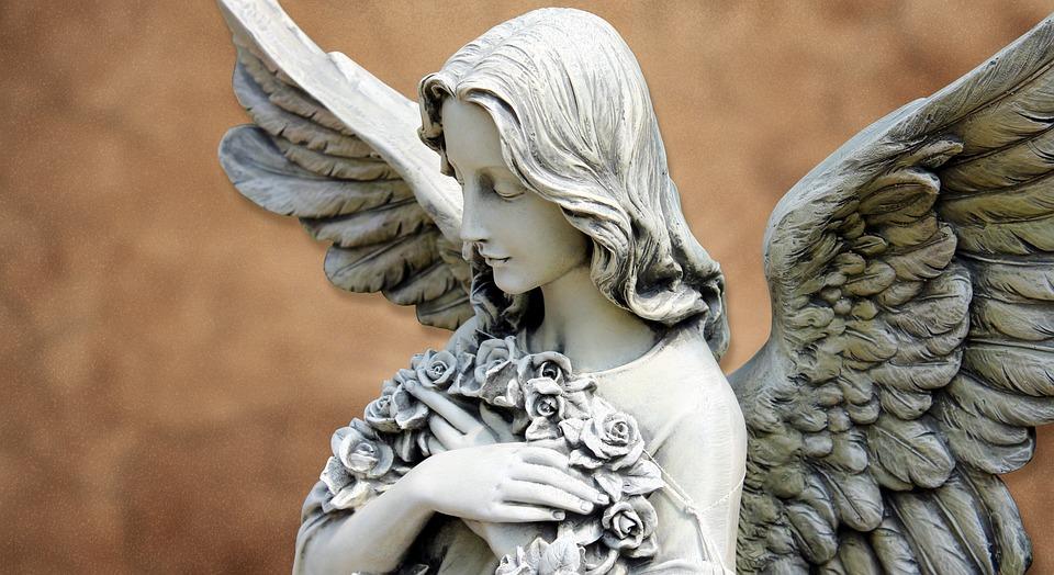 天使, 守護天使, フィギュア, 背景, 信仰, 天使図, 希望, 装飾, 平和, 蝶番, 空, 翼, 宗教