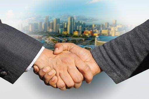 Shaking Hands- Marketing Help