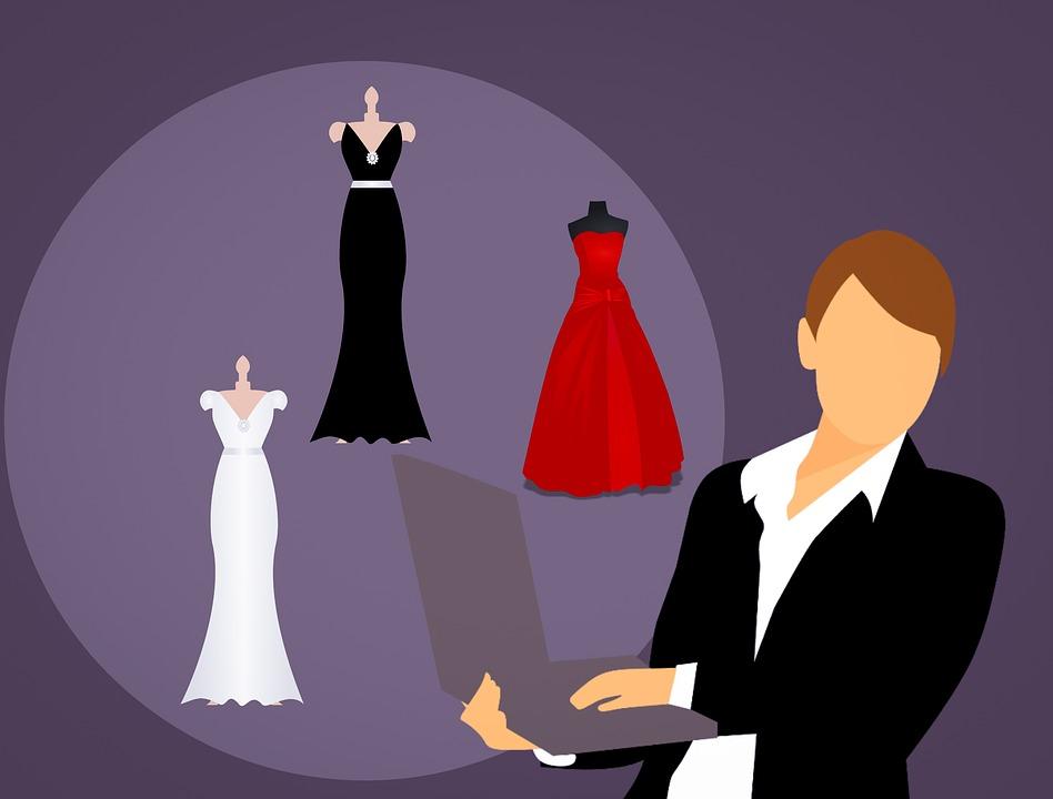 La Moda Vestido Venta Mujer De · Imagen gratis en Pixabay