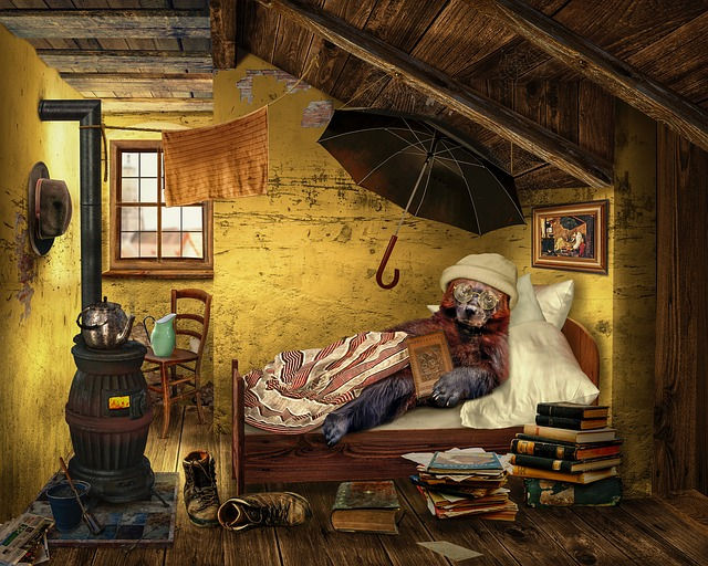 Bear Attic Room · Free photo on Pixabay