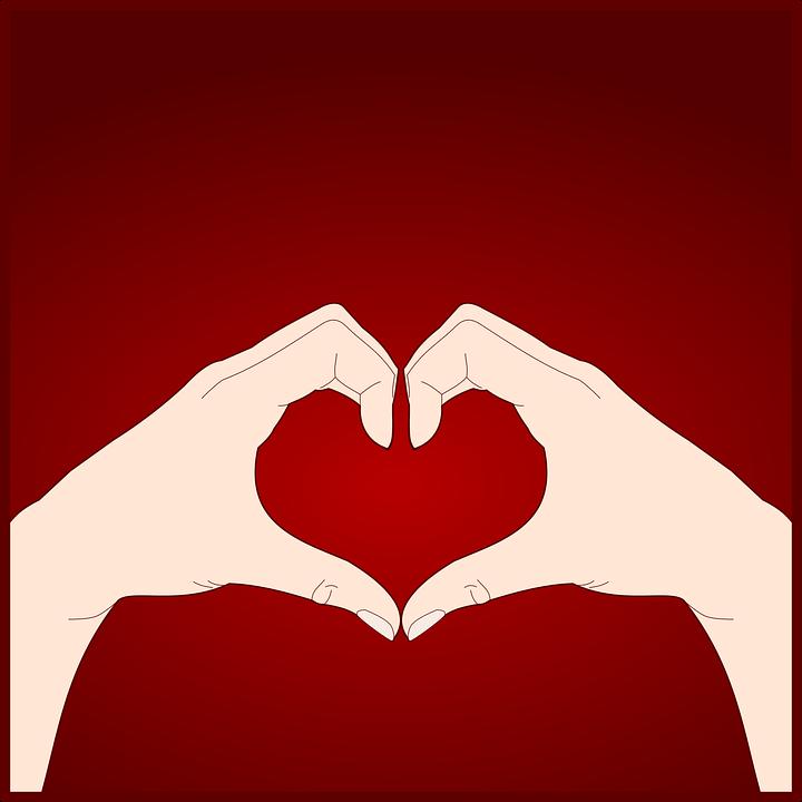 Hart, Handen, Gebaren, Taal, Lichaam, Romantische