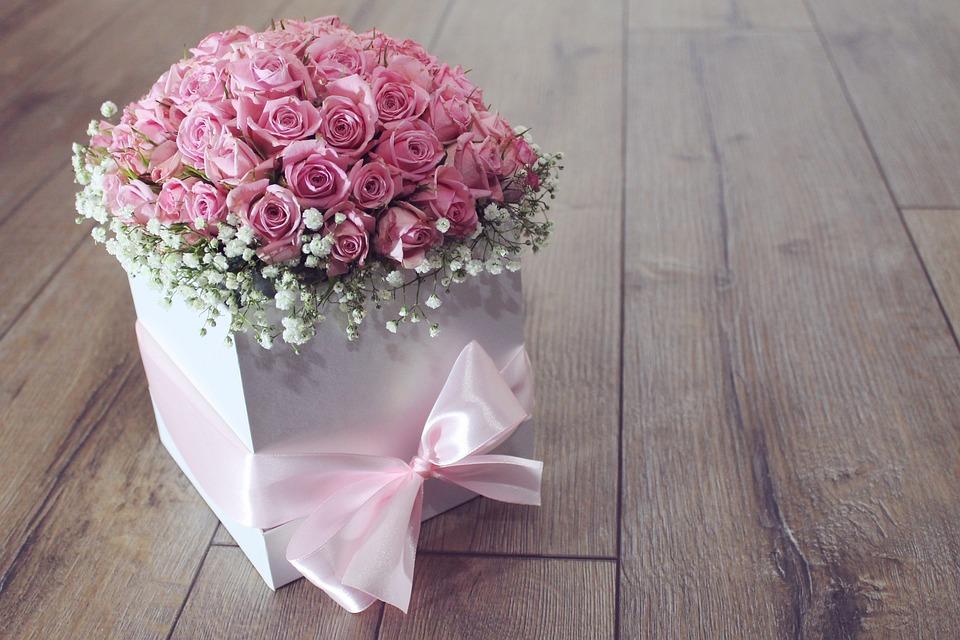 花, 花束, ローズ, バラ, ピンク, 色, 花送, クワの観光スポットサービス, 花びら, ロマンチックな