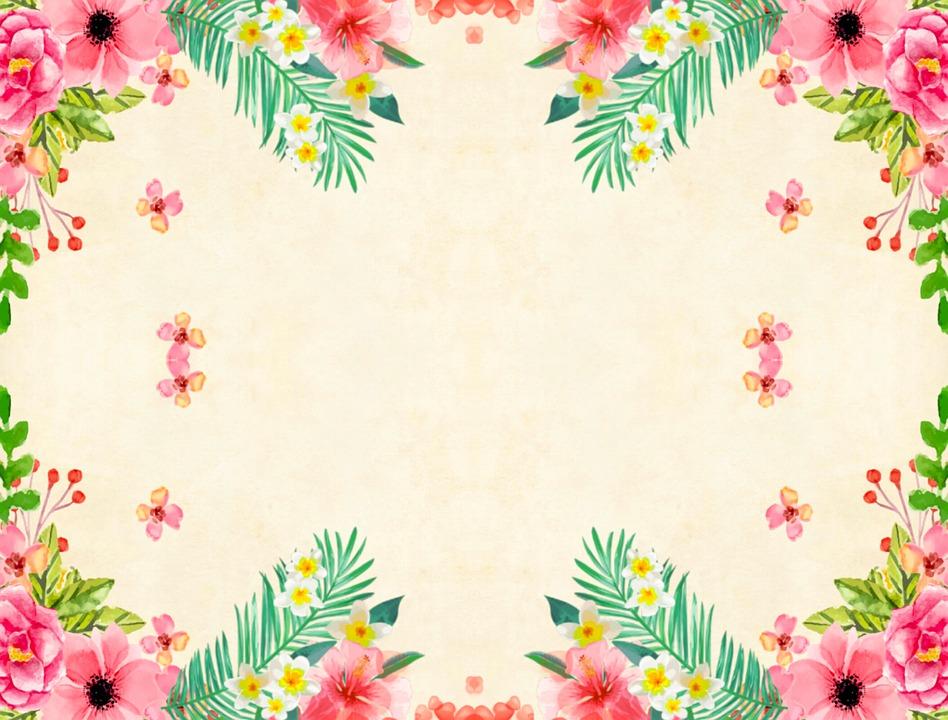 Flor De Fondo Vintage Imagen Gratis En Pixabay