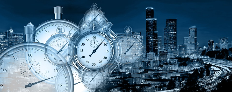 Time, Time Management, Stopwatch, Industry, Economy
