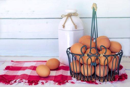 Œufs Bruns, Le Lait, Petit Déjeuner
