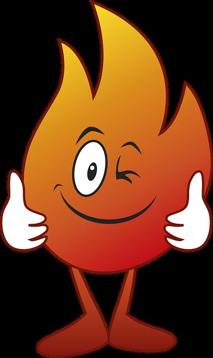 Karikatür çizim Yangın Pixabayde ücretsiz Resim