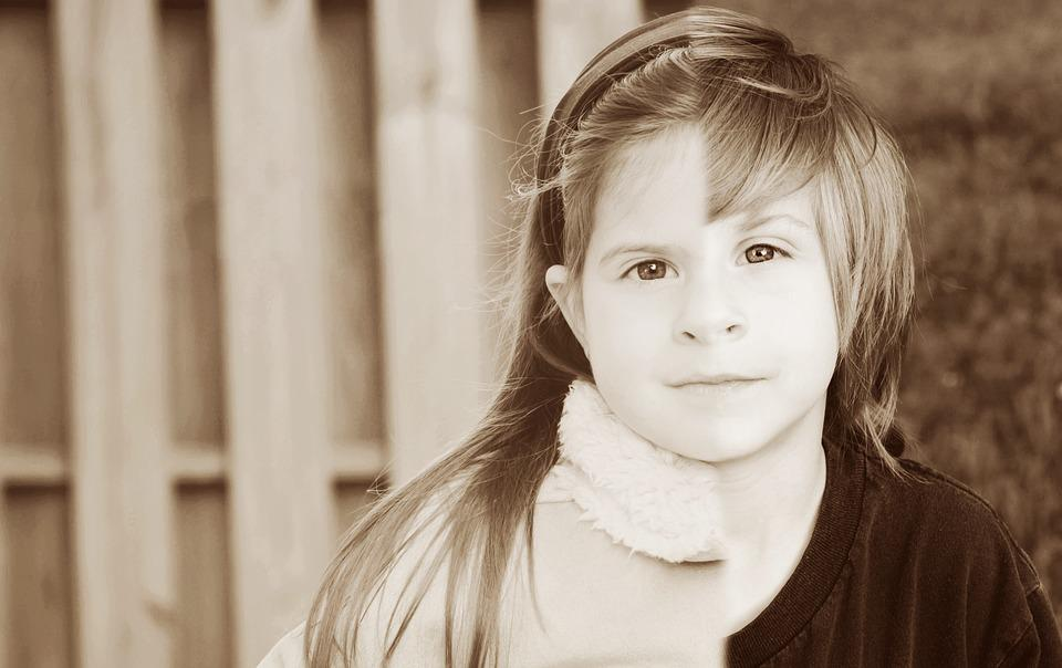 People, Portrait, Child, Girl, Cute, Facial Expression