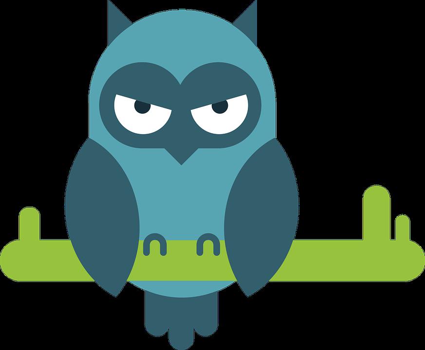 Burung Hantu Komik Hewan Potret Gambar Vektor Gratis Di Pixabay