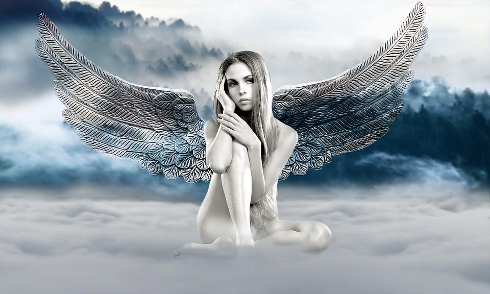 Angel Fantasy Foggy Free Image On Pixabay