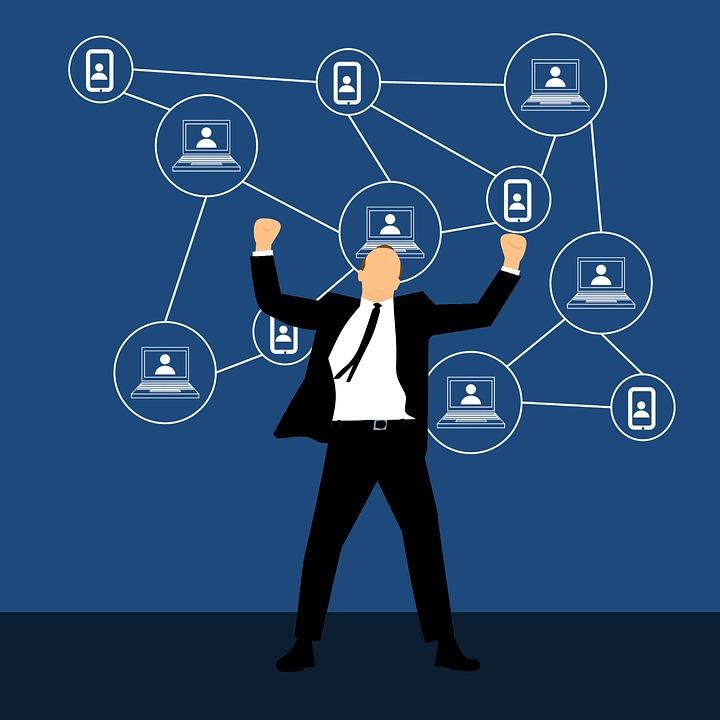 Blockchain, お金, チェーン, ブロック, 配布, シンボル, 技術, コンピュータ