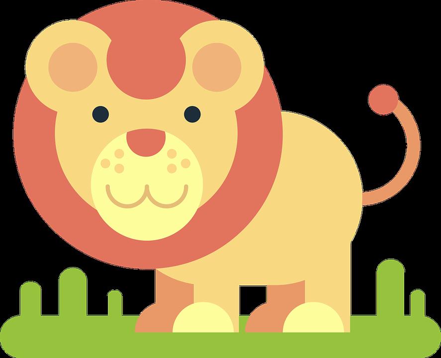 Leao Animal Desenho Em Quadrinhos Grafico Vetorial Gratis No Pixabay