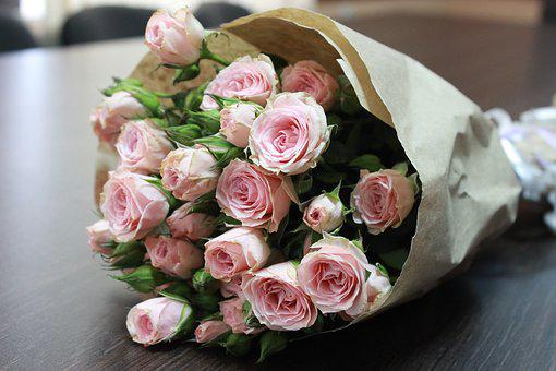 Wedding, Flower, Krupnyj Plan
