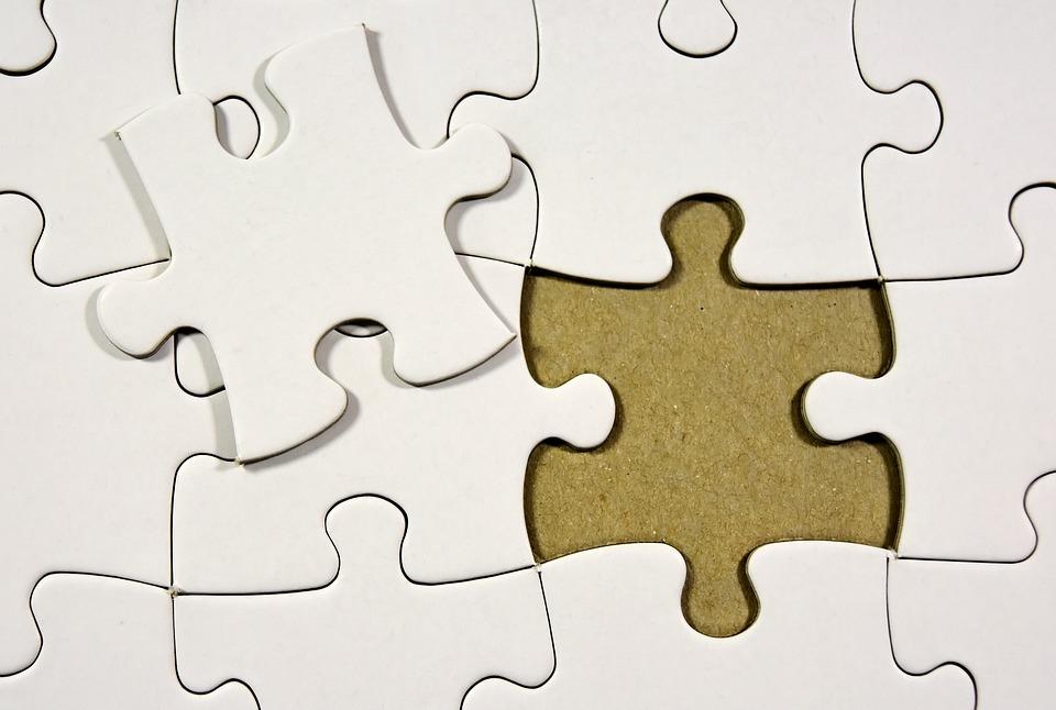 Puzzle, Ultima Parte, Riunendo, Inserire, Condividere