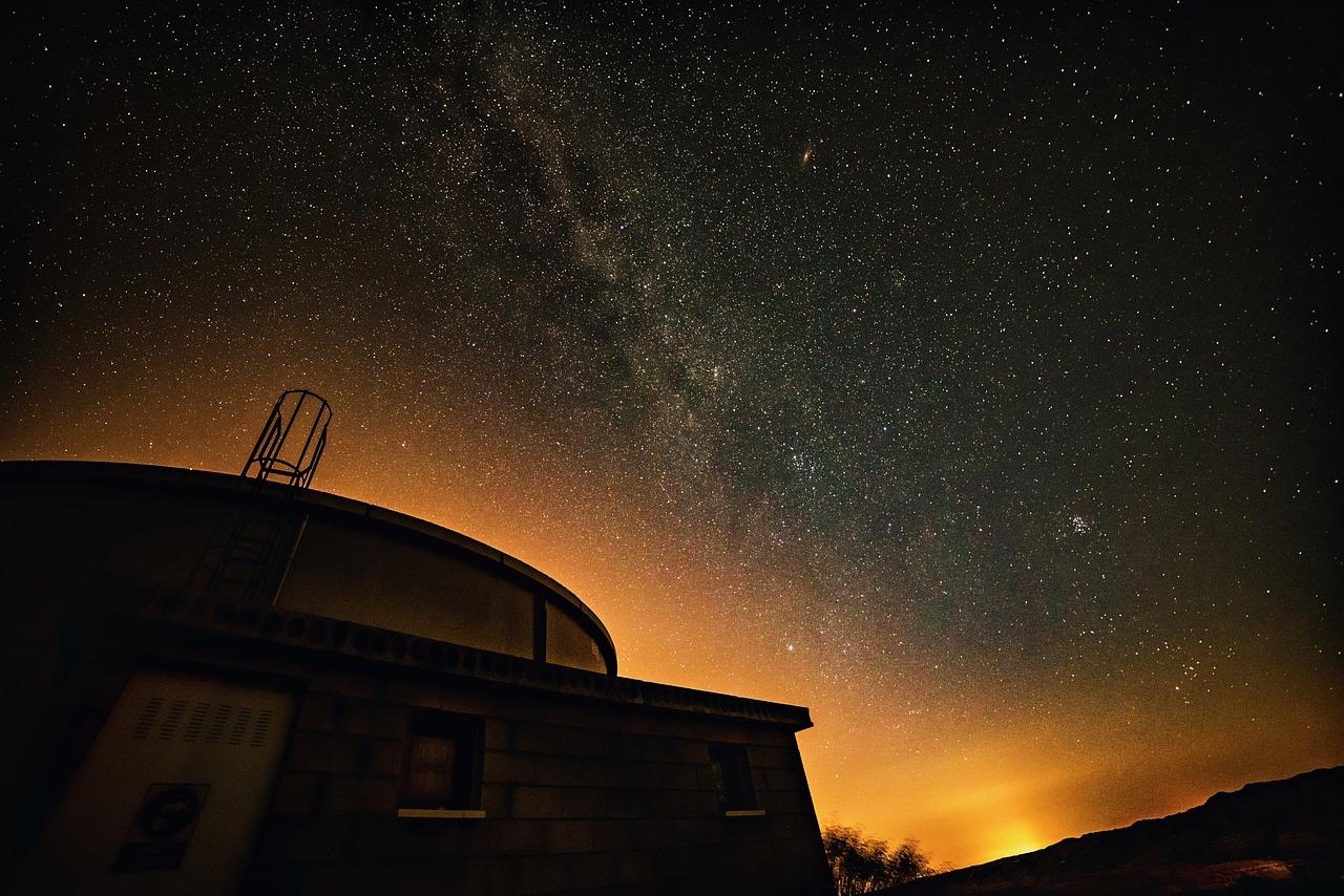 天文学, 空, 光, 展望台