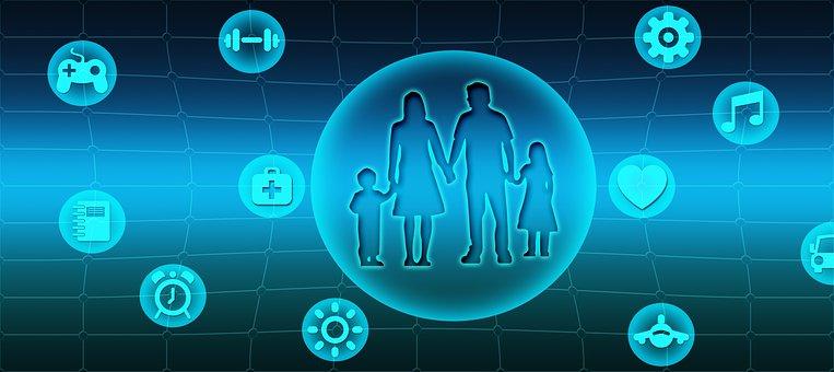 Family, Family Life, Center, Work