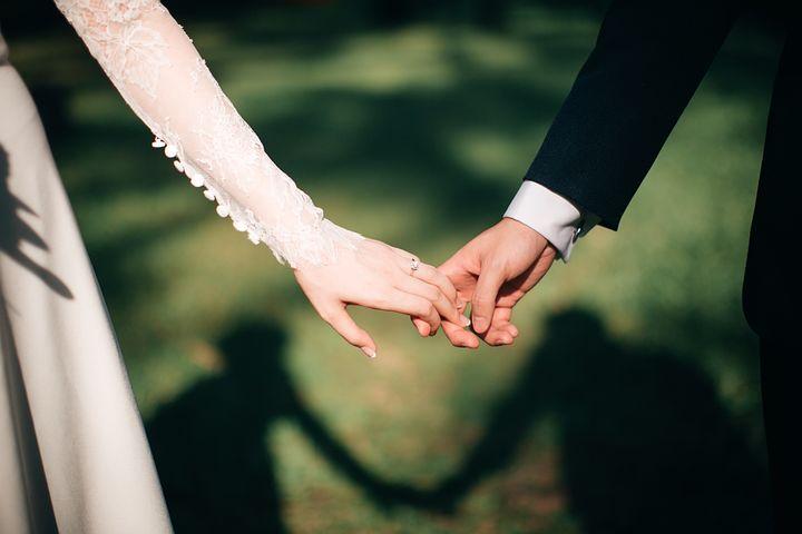 結婚式, 花嫁, 新郎, 結婚, 愛, カップル, 愛壁紙