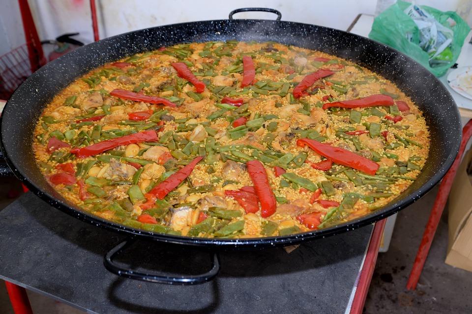 Comida, Cena, Vegetal, Cocción, Paella Valenciana