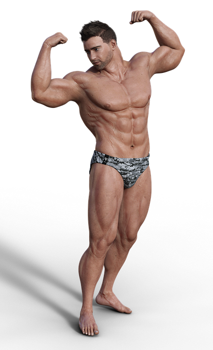 Man Muscles Sixpack · Free image on Pixabay