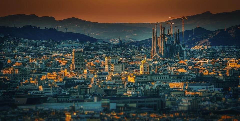 Barcelona, Ciudad, España, La Sagrada Familia