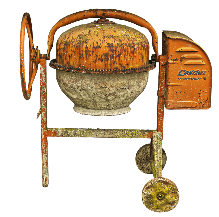 Drum Mixer Concrete Old - Free photo on Pixabay