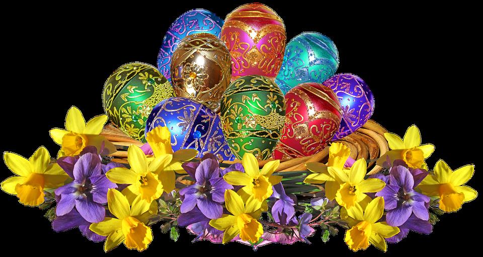 Wielkanoc, Jaj, Bukiet