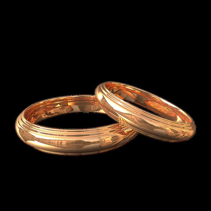 Engagement Rings Gold · Free image on Pixabay