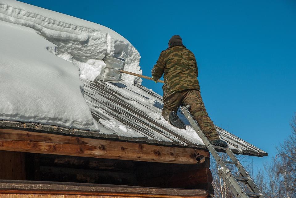 シベリア, 除雪, 屋根ふき, スケール